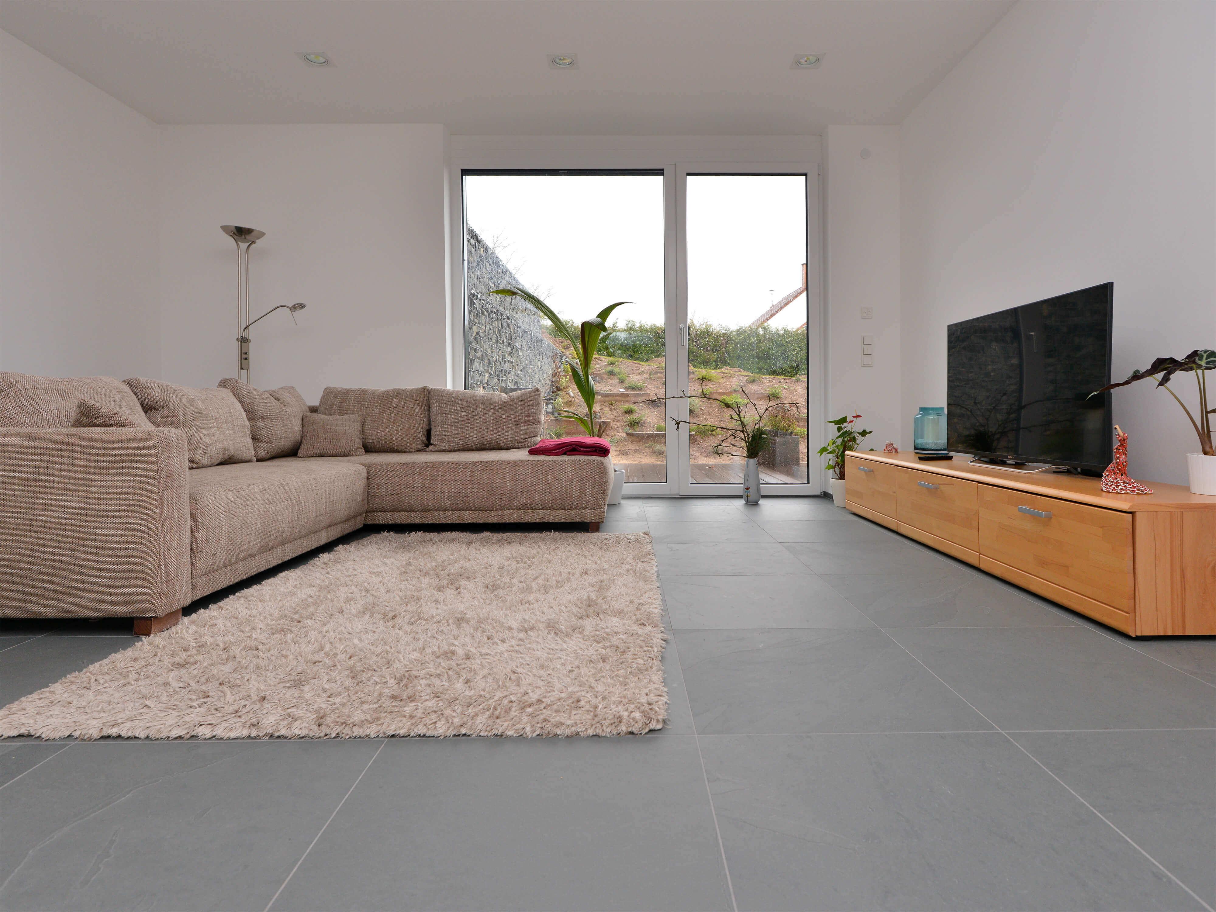 Schieferfliese Grey Slate Stonenaturelle Natursteinböden