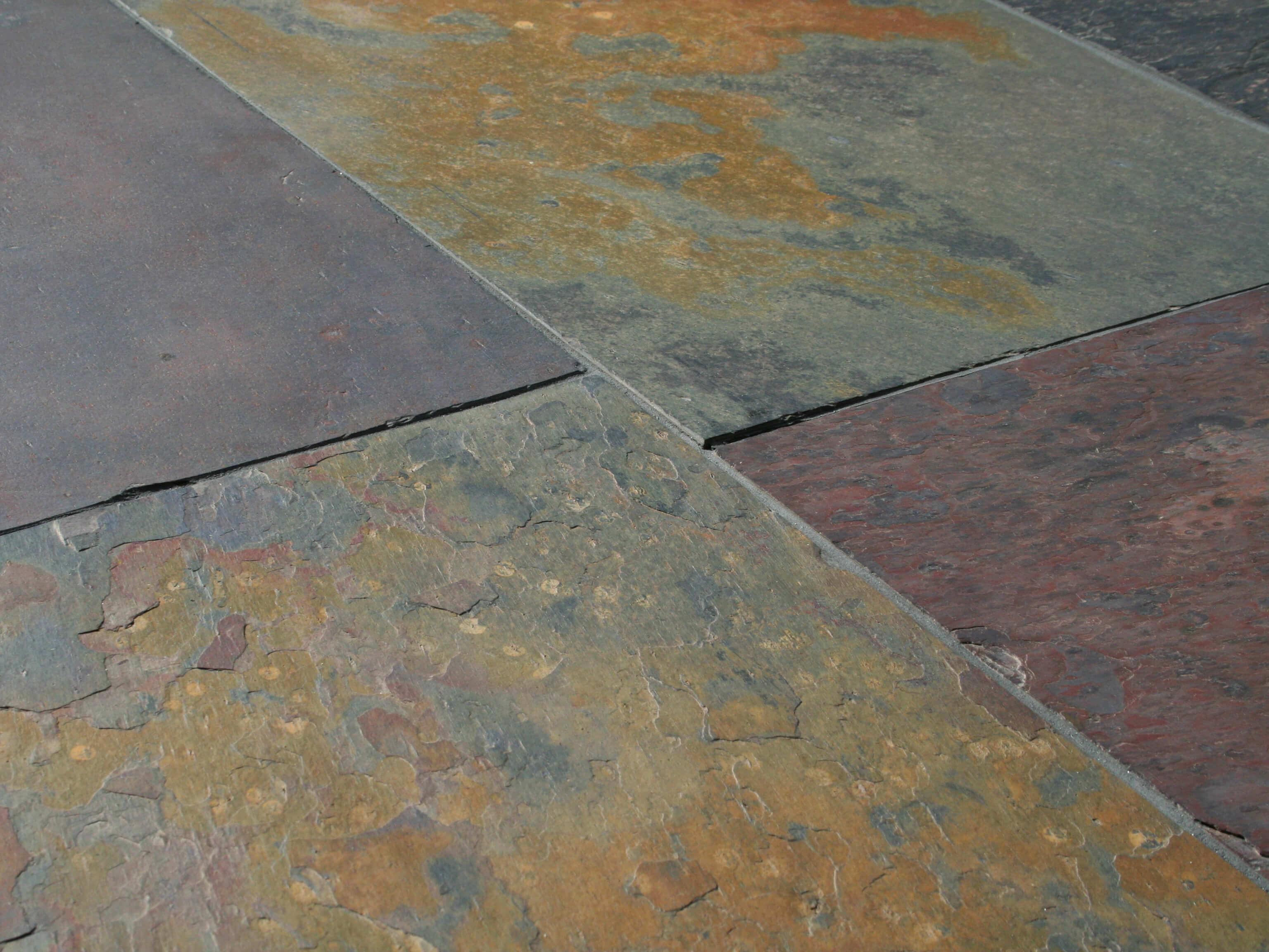 Schieferfliese Peacock Multicolor Stonenaturelle Natursteine